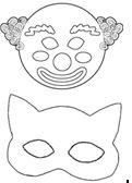 Yazdırılabilir Maske Kalıpları