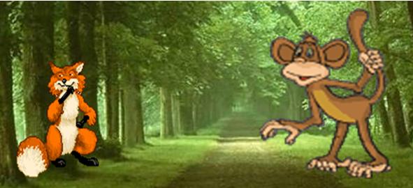 Sesli Masal Sunusu: Maymunla Tilki