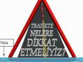 Trafik Kurallarını Öğreniyorum Slayt Video