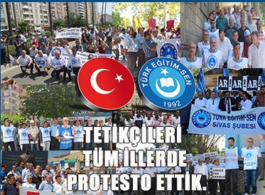 Türk Eğitim Sen'den Protesto