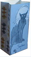 Karton Çanta Kalıbı: Kes Katla Yapıştır