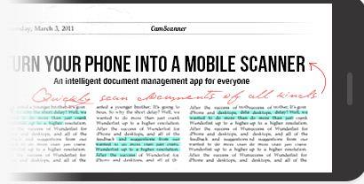 Android Uygulaması CamScanner