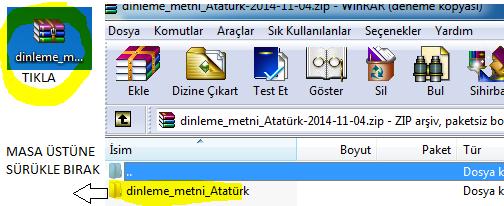 3. Sınıf Dinleme Metni Slayt: Atatürk'ün Hayatı