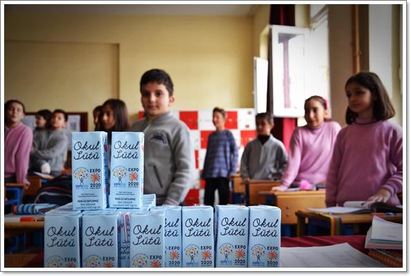 İlkokul-süt