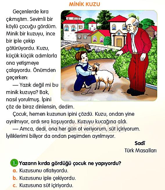 2. Sınıf Türkçe