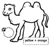 Hayvanlar Boyama Sayfasi Egitim Icin