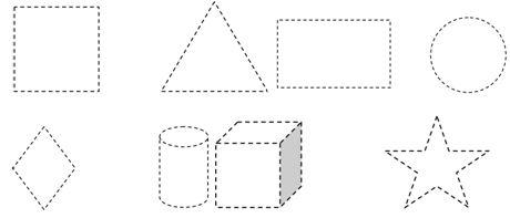 Okuloncesi Geometrik Sekiller Etkinligi Egitim Icin