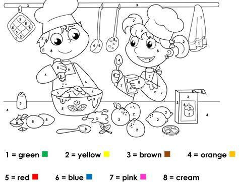 Ingilizce Renkler Boyama Kagidi Egitim Icin